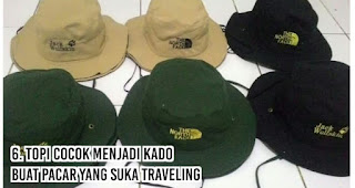 Topi cocok menjadi kado buat Pacar Yang suka traveling