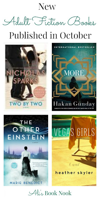 New Adult Fiction Books Published in October