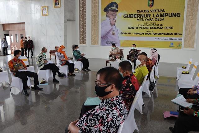 Tindaklanjuti Arahan Menko Kemaritiman Dan Investasi, Pemprov Lampung Gelar Rapat Pembahasan Pembangunan Pertanian Dan Perkebunan Di Provinsi Lampung