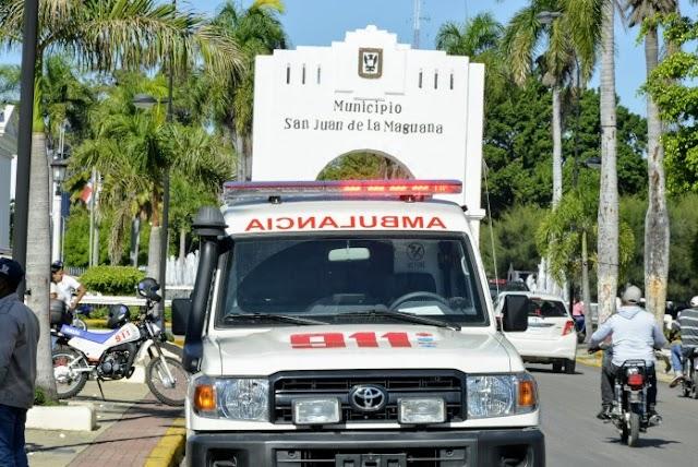 San Juan: El 911 se estrenó con un anciano atropellado por un motorista