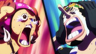 ワンピースアニメ 989話 ワノ国編 | ウソップ チョッパー かわいい ブラキオタンク5号 | ONE PIECE Tony Tony Chopper