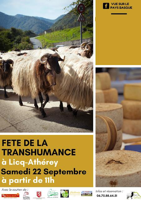 Fête de la transhumance Soule Pays Basque 2018