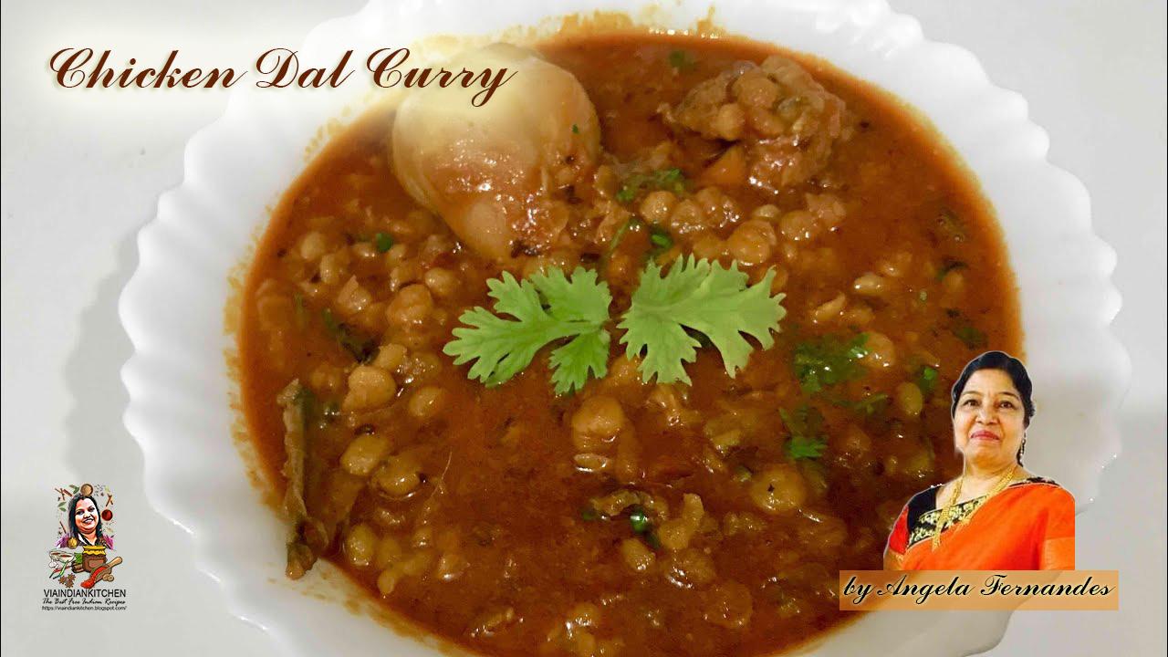 Chicken Dal Curry / चिकन दाल करी