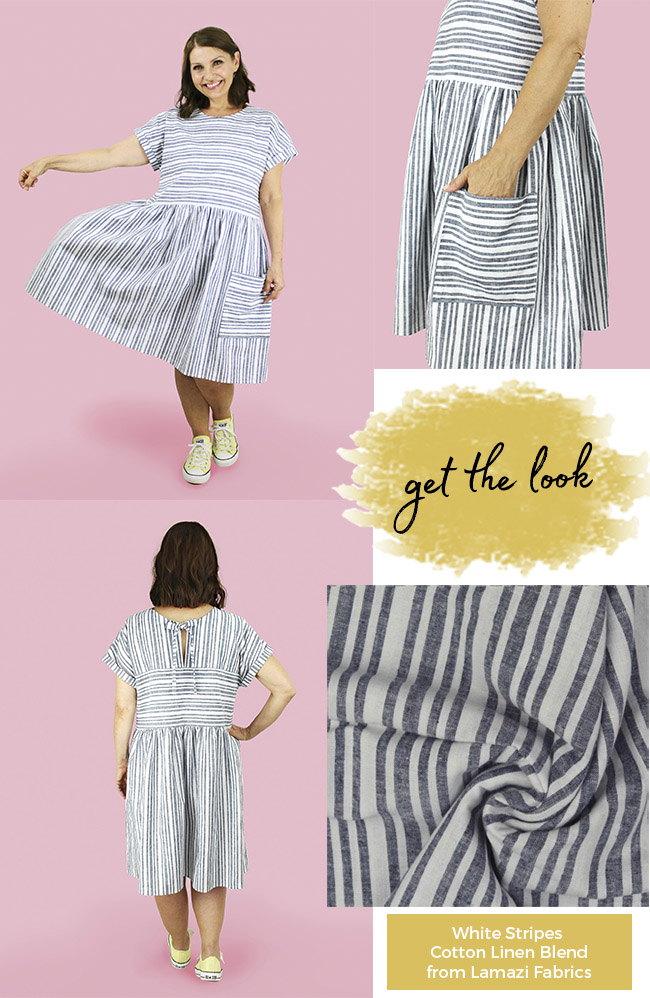 Stevie add-on sewing pattern inspiration - Tilly and the Buttons