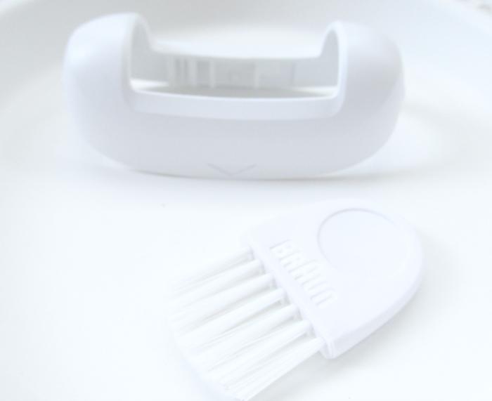Braun Silk-épil 9 Wet & Dry Epilierer Reinigungsbürste & Hautkontakt Aufsatz