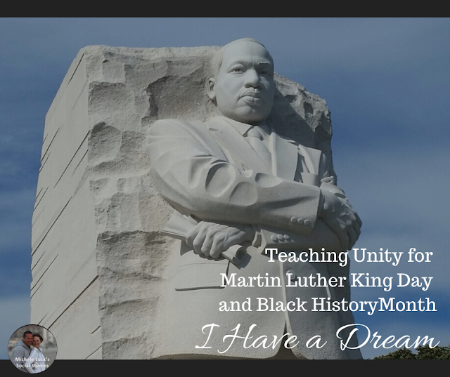 I Have a Dream: Teaching Unity for Martin Luther King Day and Black History Month