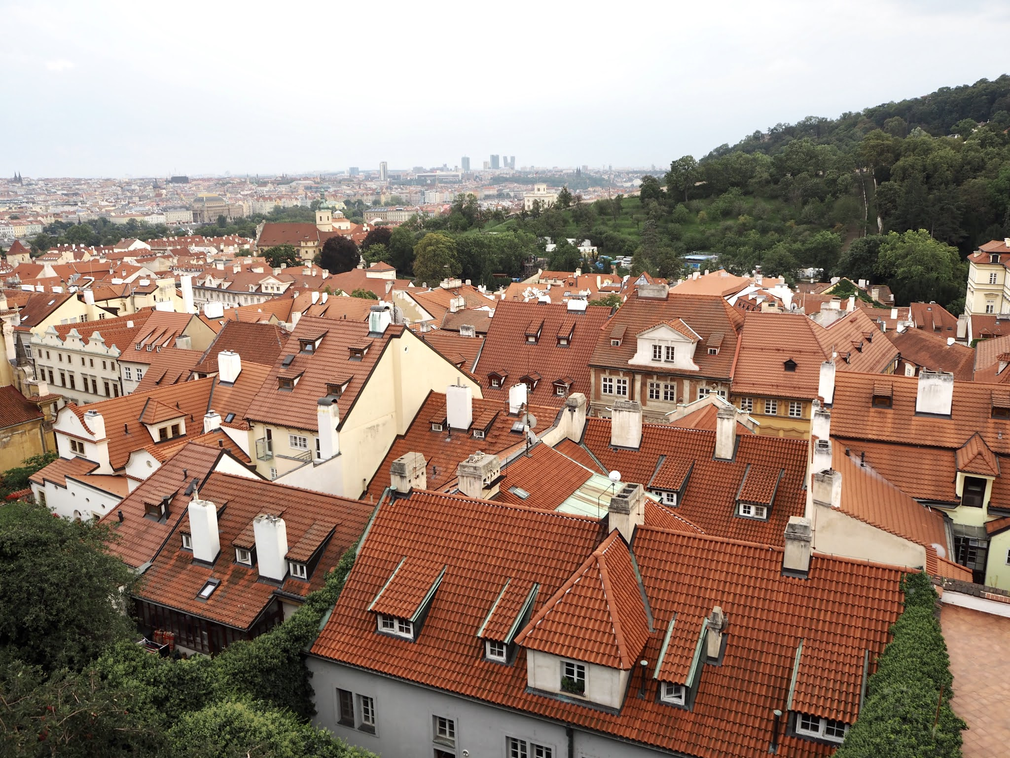 roof views over prague