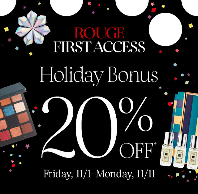 Sephora Holiday Bonus Event