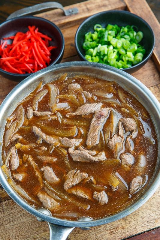 Gyudon (Japanese Beef Rice Bowl)