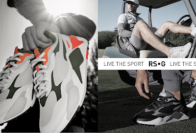 Retro-Inspired RS-G Golf Silhouette revealed by PUMA
