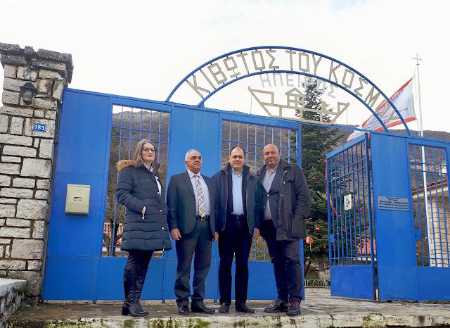 Πρέβεζα: Ο όμιλος για την UNESCO Πρέβεζας επισκέφτηκε και ενίσχυσε το σπίτι της κιβωτού του κόσμου στην Πωγωνιανή