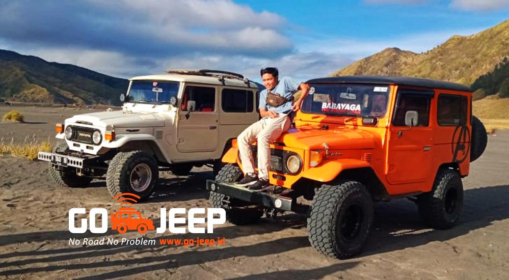 jeep hardtop wisata gunung bromo