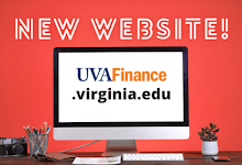 New UVAFinance Site is live