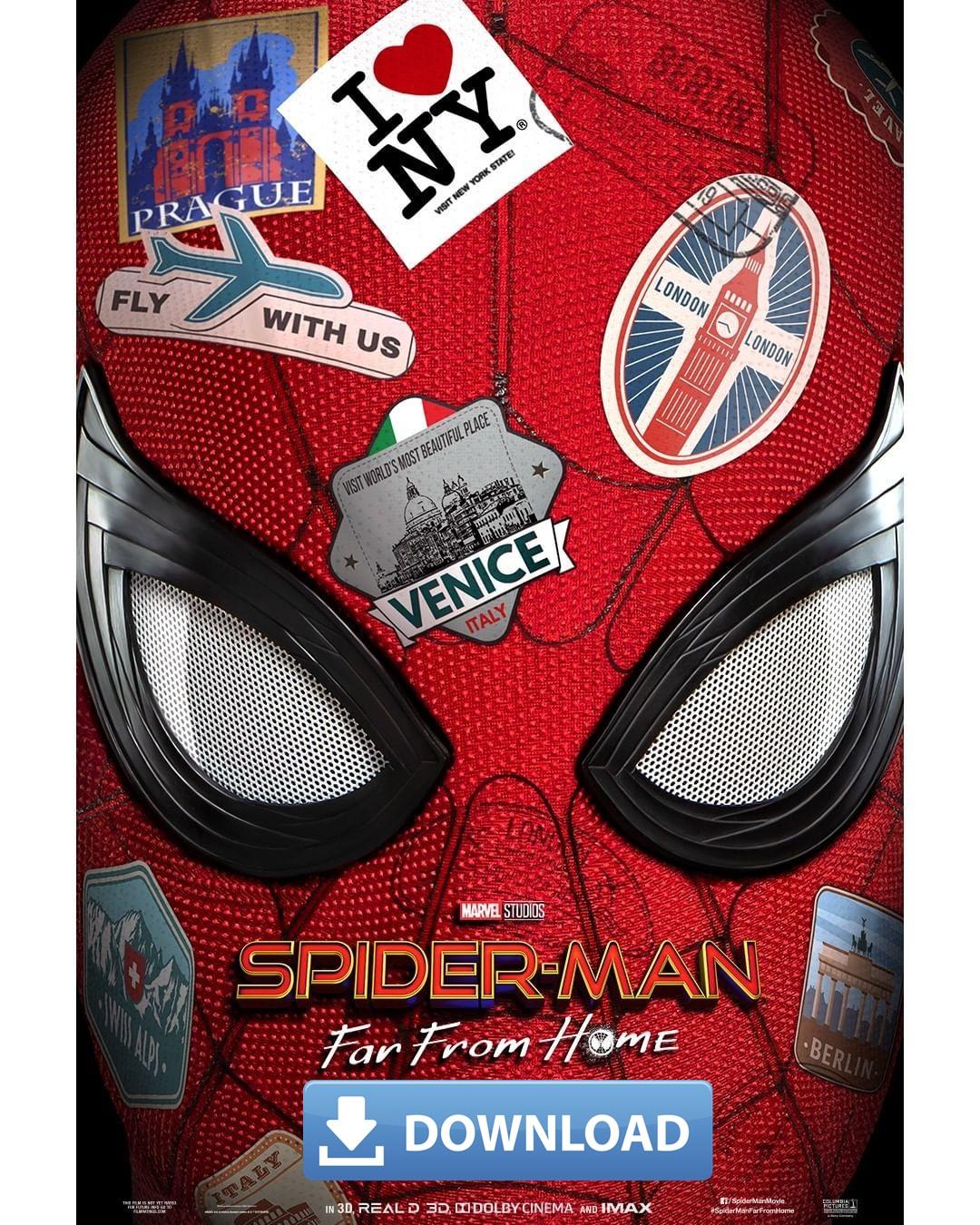 Nonton Film Spider Man Far From Home : nonton, spider, Download, Spider-Man:, [2019][HD][480p][720p][1080p][BluRay][BRRip][WEBRip][CAM], DAILY