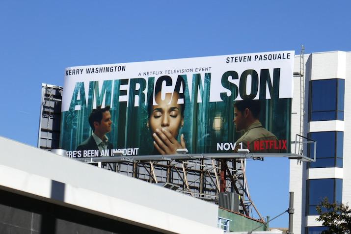 American Son Netflix film billboard