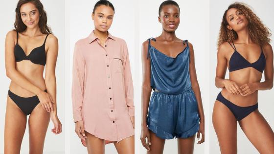 Top Lingerie + Sleepwear Picks