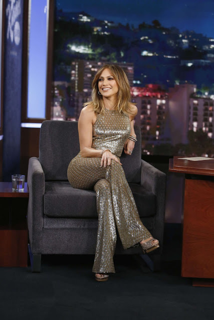 Jennifer Lopez at 'Jimmy Kimmel Live
