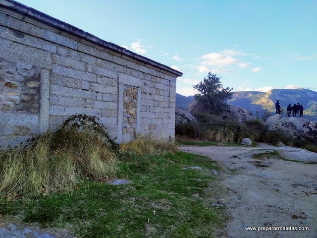 casa de El Sordo en el Escorial, sierra