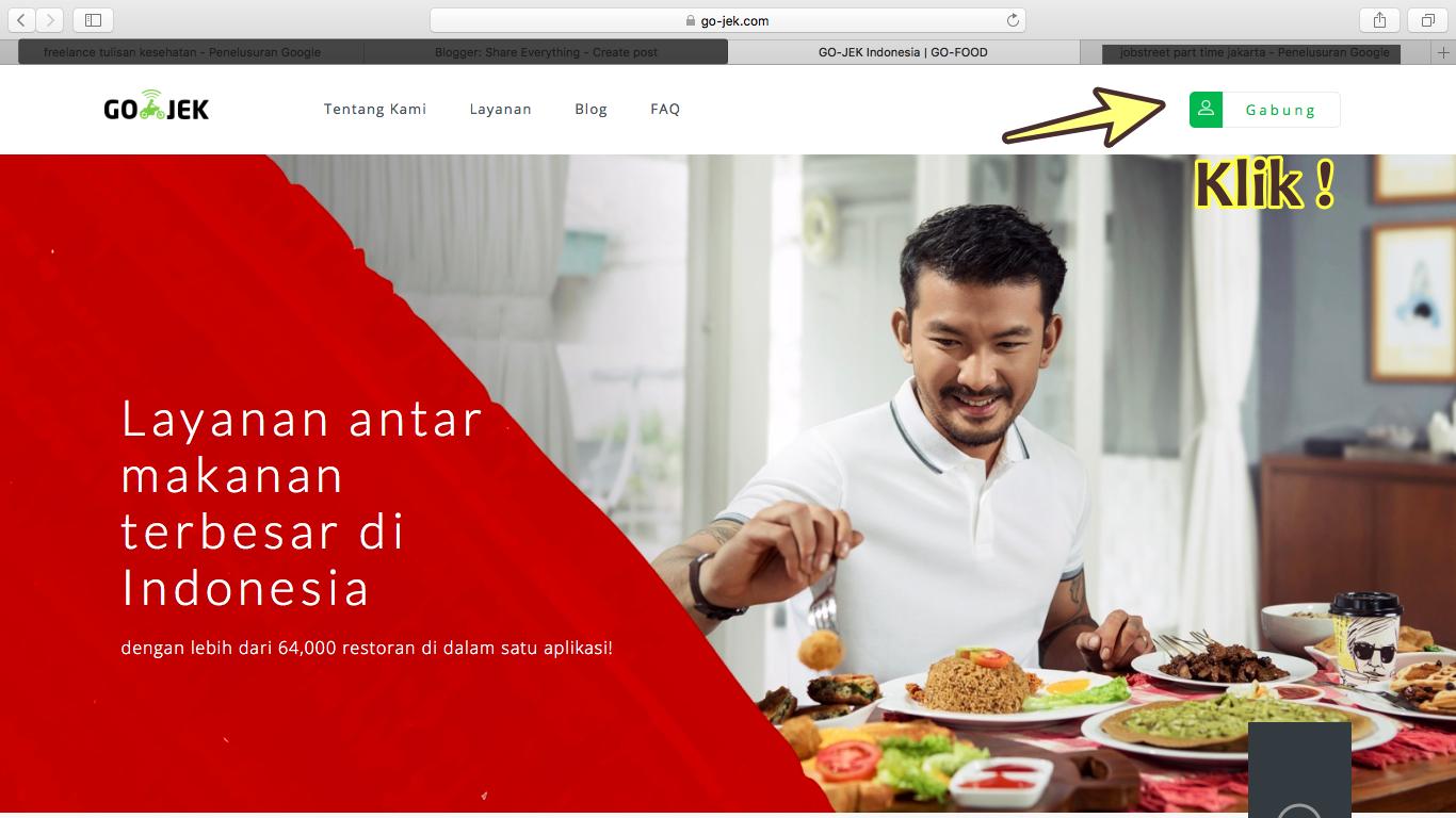 share everything cara join gofood untuk restaurant anda
