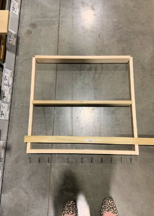 How to make a wall mounted dish rack from wood off the shelf at the hardware store