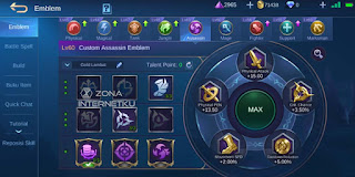 Emblem of the sickest and strongest Natalia in Mobile Legends