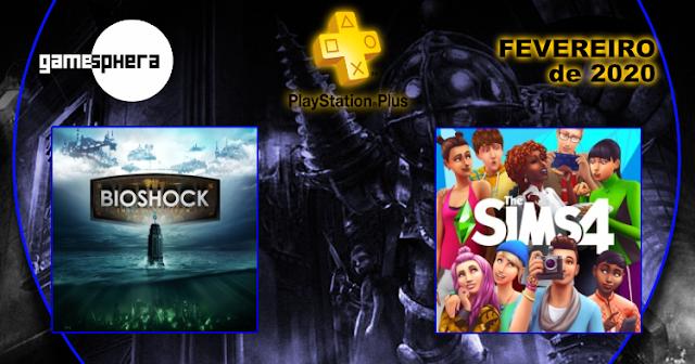 Playstation Plus - Fevereiro de 2020