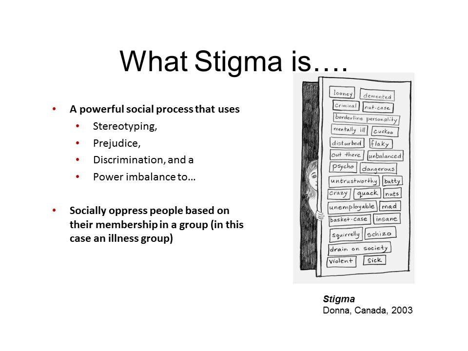 Mental Illness: A Society of Stigma