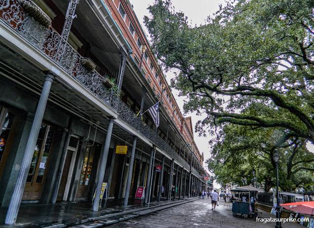 Pontalba Buildings, edifícios históricos em Jackson Square, Nova Orleans