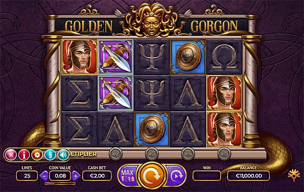 Main Gratis Slot Indonesia - Golden Gorgon Yggdrasil
