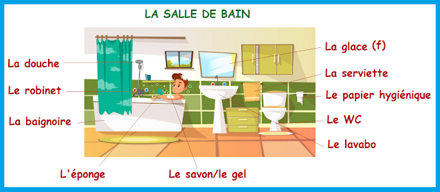 Dom - W łazience 3 - Francuski przy kawie