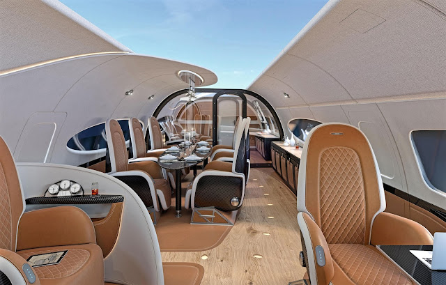Airbus Corporate Jets Cabin Interior