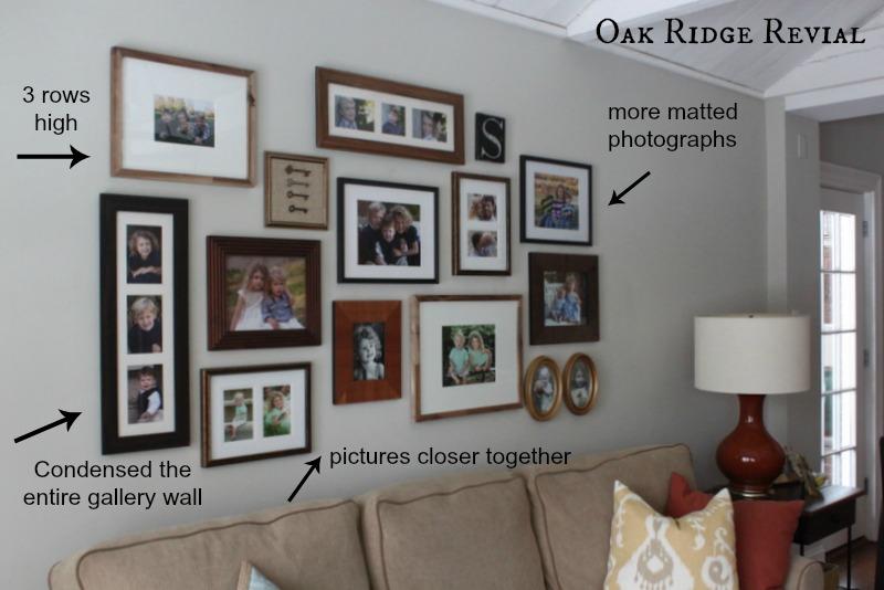 Oak Ridge Revival Updated Gallery Wall