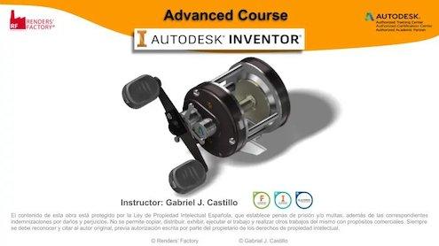Curso Avanzado de Autodesk Inventor (Rendersfactory)