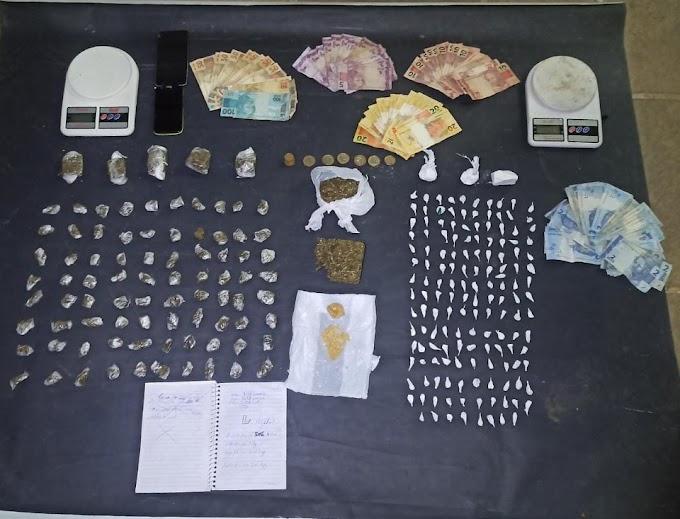 Trio é preso por tráfico de drogas no Jardim Bethânia em Cachoeirinha