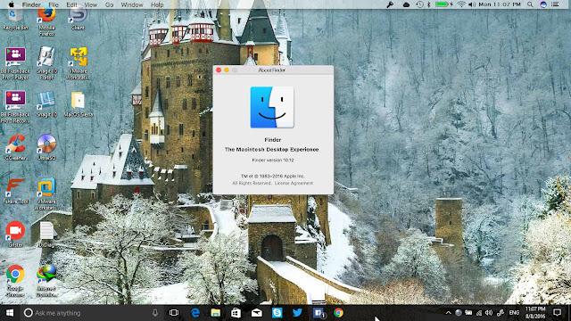 Hướng dẫn cài đặt giao diện Finderbar của MacOS Sierra cho Windows 10