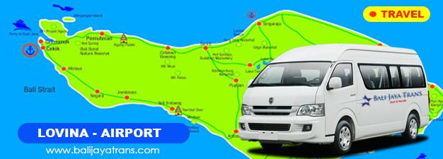 Transport Murah Lovina Singaraja ke Bandara Ngurah Rai