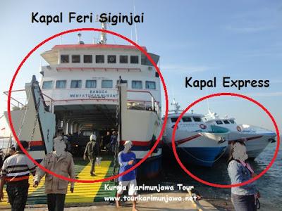 kapal penyeberangan jepara karimunjawa