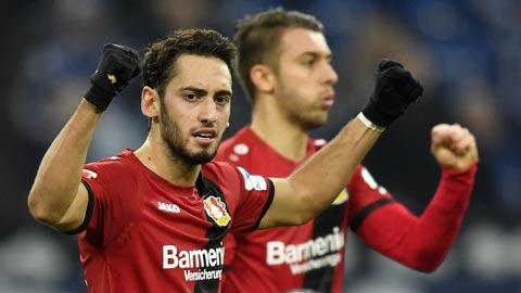 Hakan Calhanoglu có nhiều khả năng để phát triển ở AC Milan.