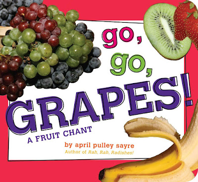 Go, Go, Grapes! part of children's book review list about healthy eating