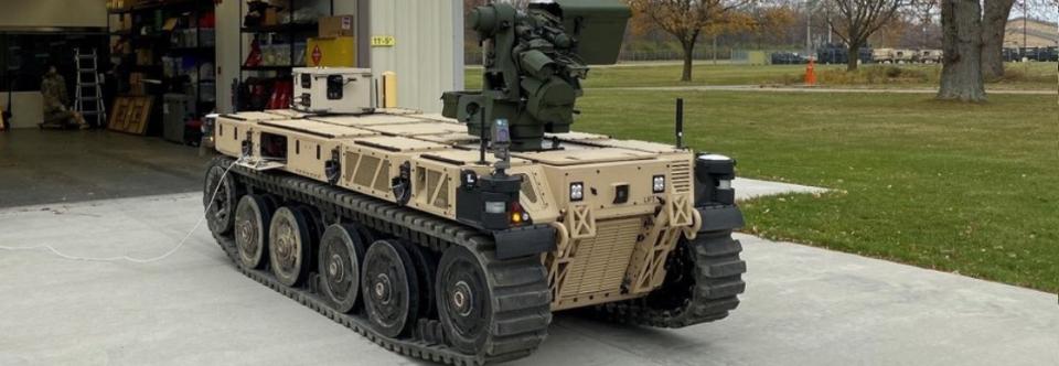 Армія США отримала роботизовані машини RCV-L