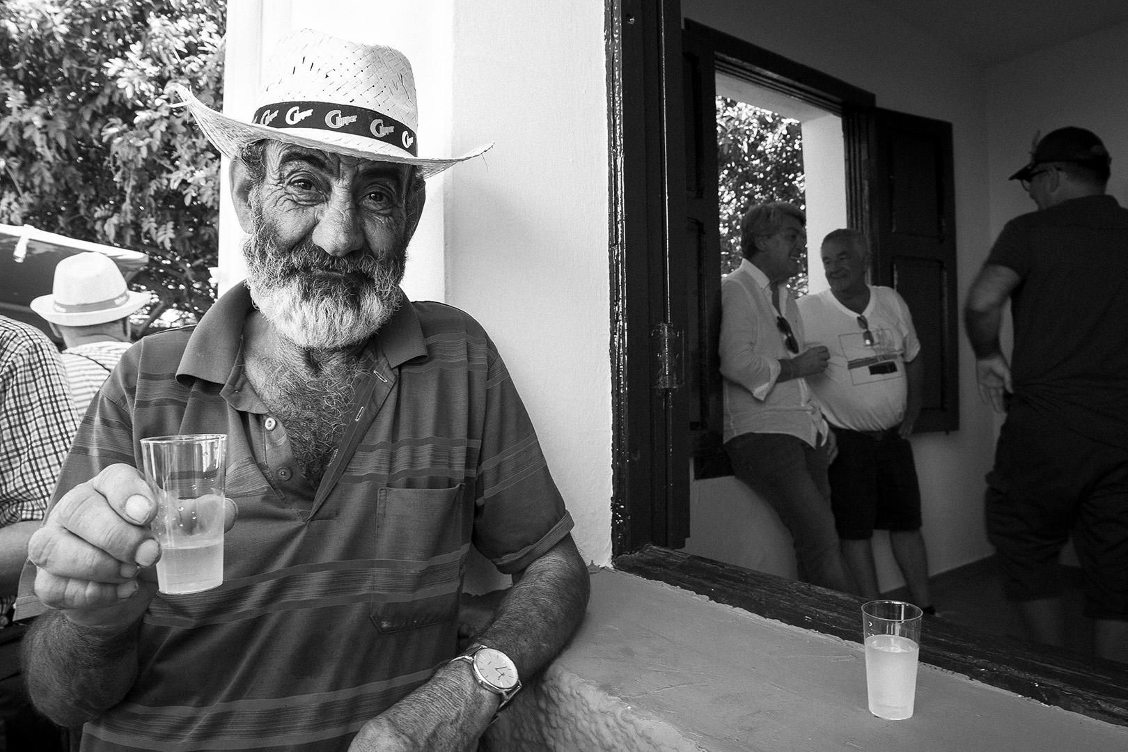 Romeria, Guimar - Socorro; A toast
