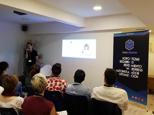 Foto charla Alejandro Gamero encuentro redactores digitales via Raiola Networks