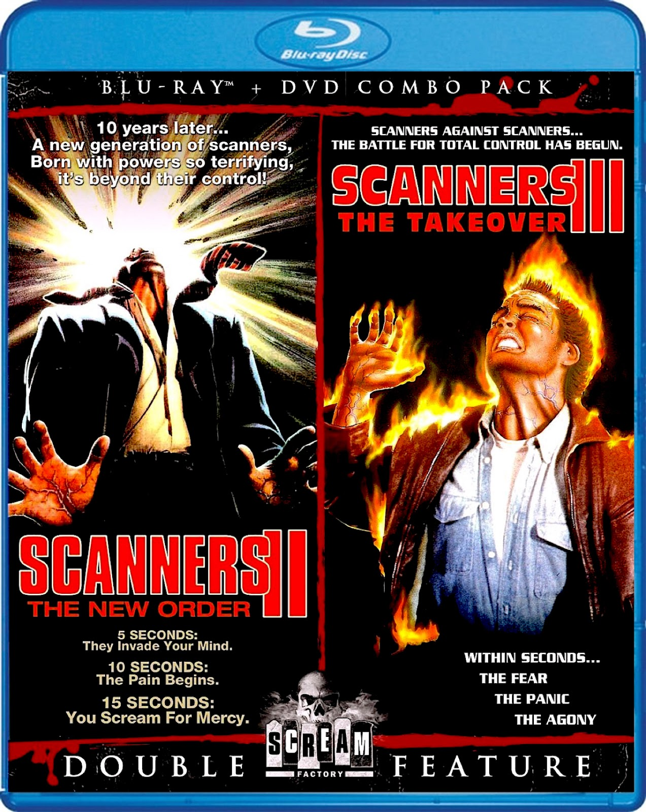 Blu-Ray And Dvd Covers Scream Factory Double Feature Blu -8563