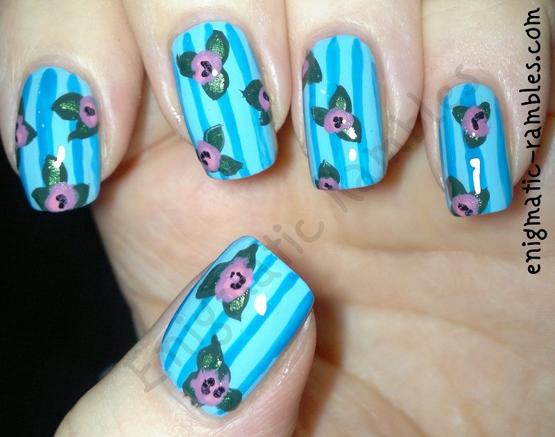 freehand-floral-flower-nails-nail-art-cath-kidson-inspired