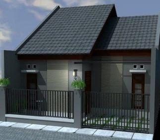 desain atap rumah type 36