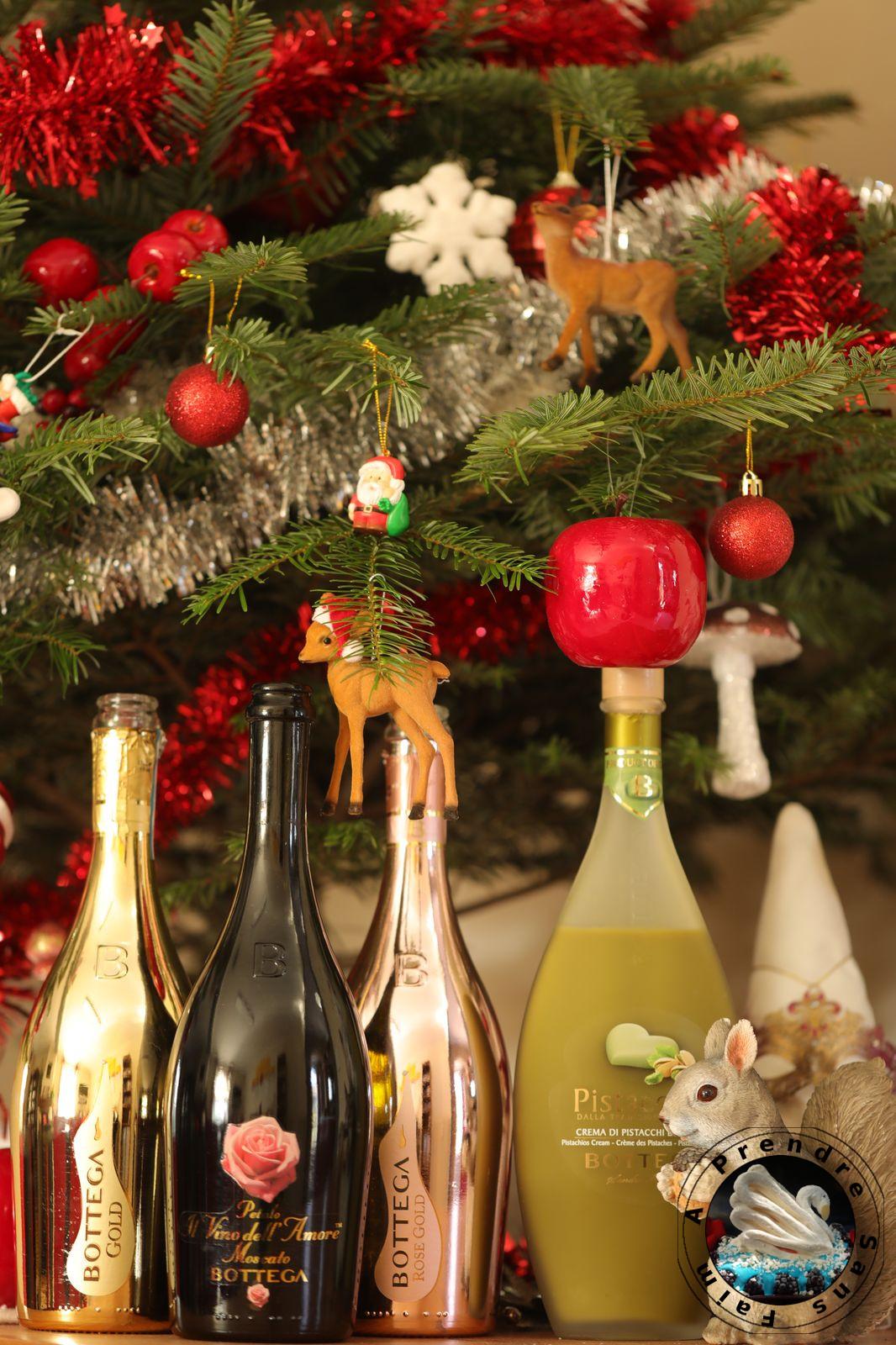 Accords mets et vins à Noël avec Bottega