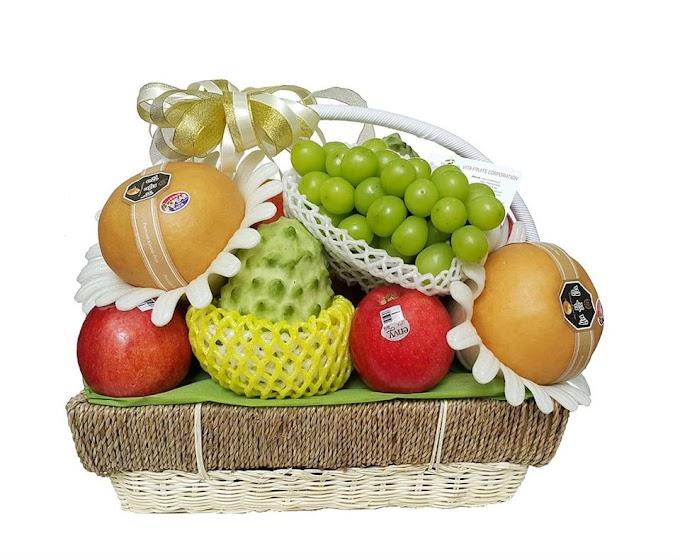 Giỏ hoa quả Phát Lộc P16