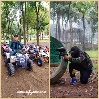 main atv dan paintball di budayaland