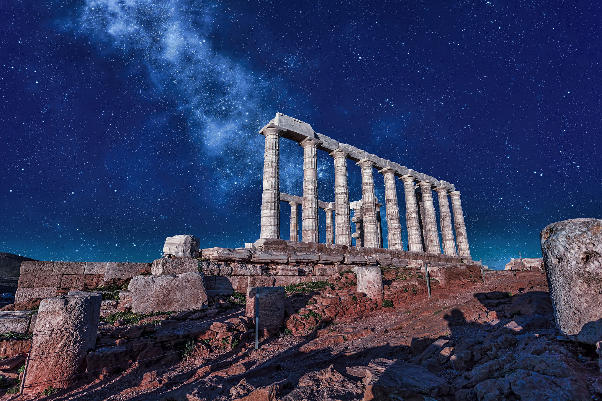 Temple of Poseidon Sounion