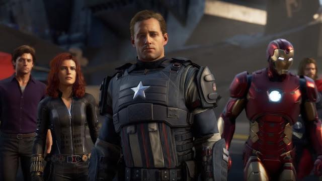 Marvel Avengers game